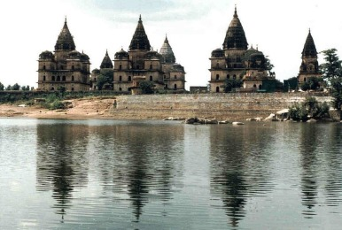 CHHATRIS ON THE BANK OF BETWA RIVER.jpg