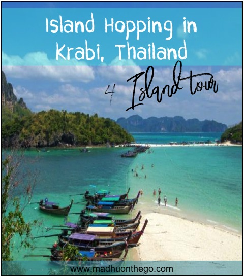 island hopping- 4 island tour krabi