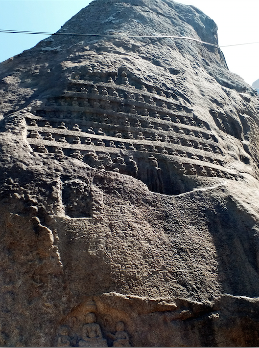 rock carvings, Shravanbelgola.png