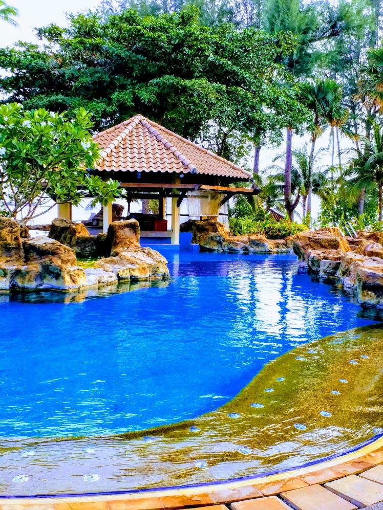Pool bar, nirwana garden, Bintan
