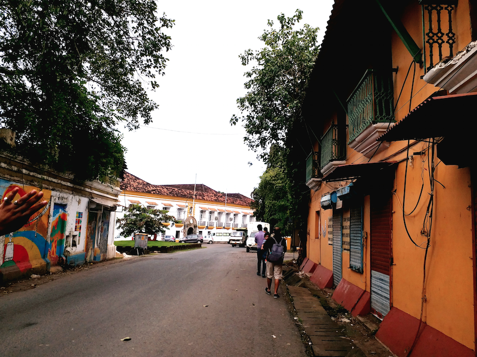Experiencing the old world charm in Panaji, Goa – Fontainhas & Panaji Church
