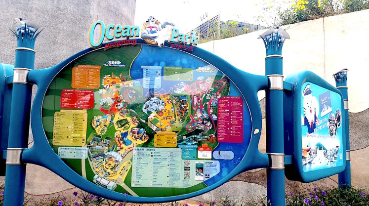 Map- Oceans Park